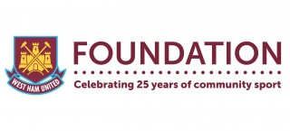 West Ham Foundation Logo in a horizontal format