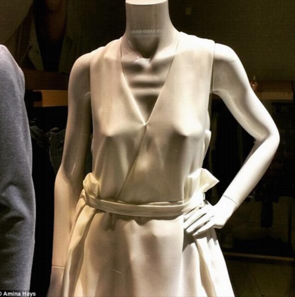 Emaciated mannequin