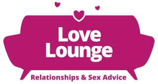The new love lounge logo in pink