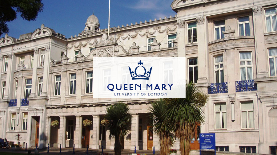 The exterior of the Queen Mary's University