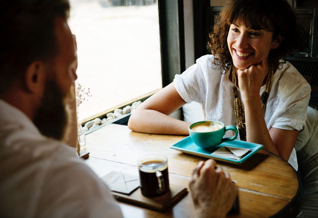 Dating over coffee