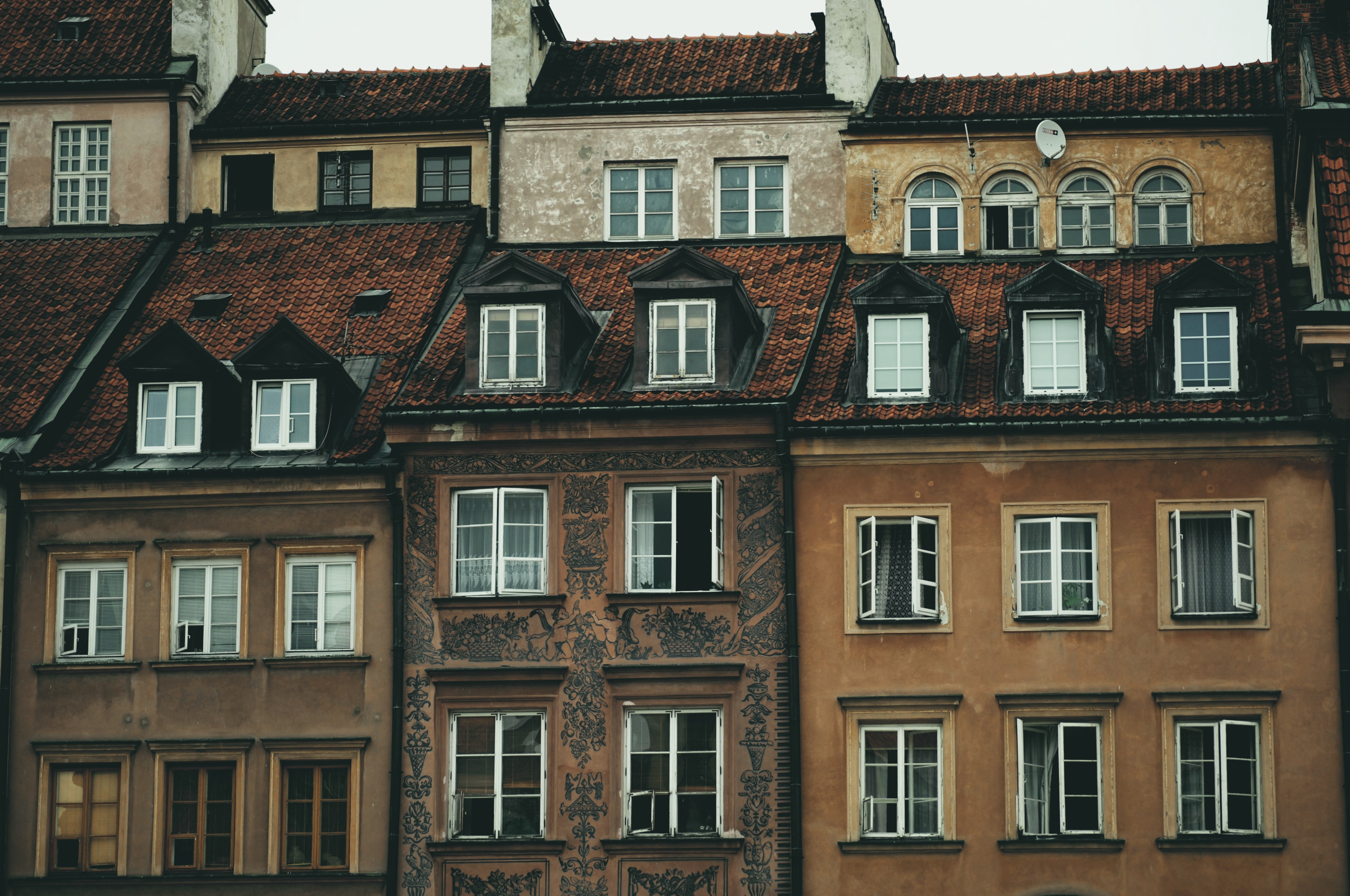 traditional buildings in Poland