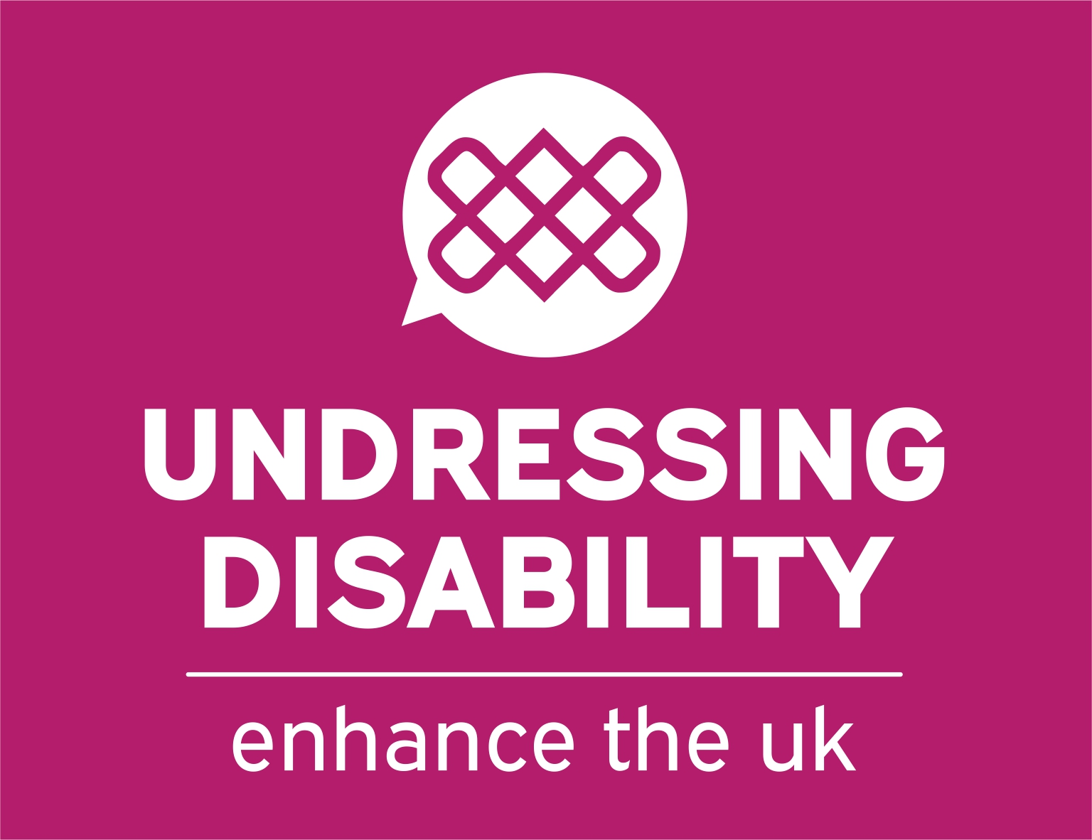 The Undressing Disability Logo