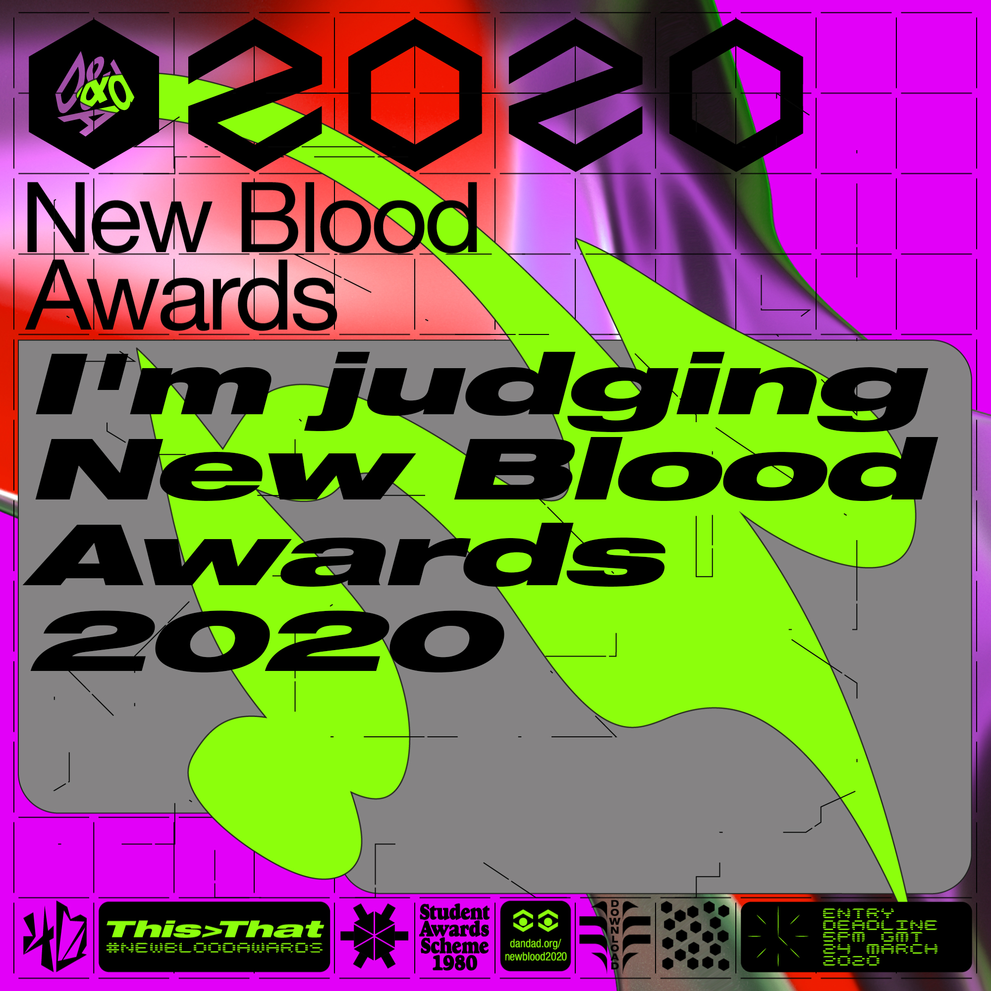 I'm judging New Blood Awards 2020