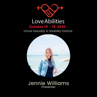 Jennie Williams Presenter at Love Abilities Festival