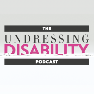 The Undressing Disability Podcast logo